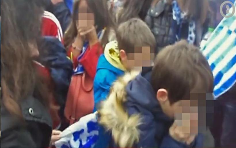 Βίντεο-σοκ: Έπνιξαν παιδιά στα χημικά στο Σύνταγμα