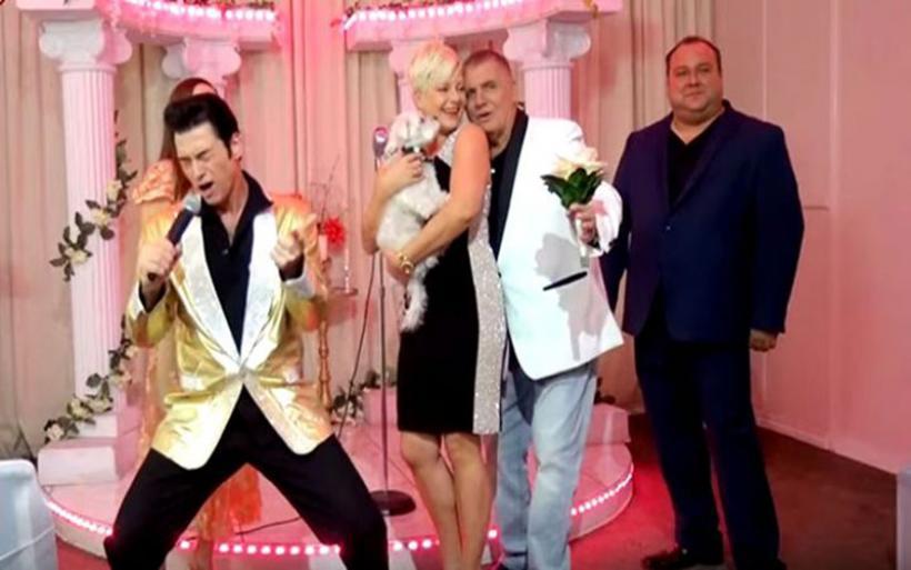 Ο Γιώργος Τράγκας ανανέωσε τους γαμήλιους όρκους τους στο Λας Βέγκας!