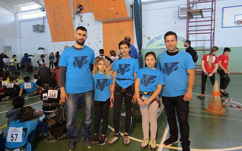 Επιτυχημένη συμμετοχή του ΕΟΣ Αλμυρού σε αγώνες αναρρίχησης (φωτο)