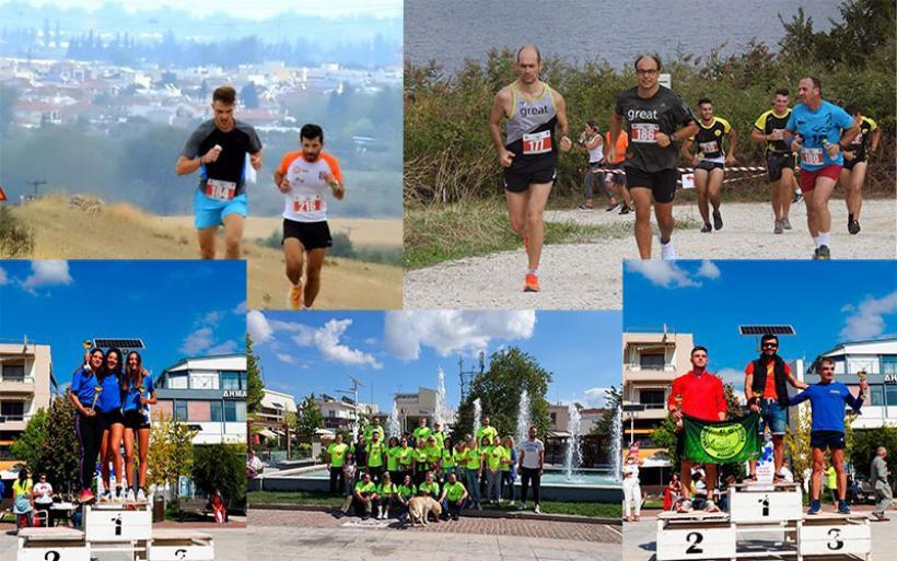 """ΕΟΣ Αλμυρού: Με απόλυτη επιτυχία ο 5ος Αγώνας Δρόμου """"Almyros City-Zerelia Lakes"""""""