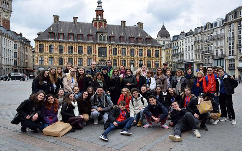 Το Γυμνάσιο Ευξεινούπολης στη Γαλλία στα πλαίσια Ευρωπαϊκού προγράμματος ERASMUS+KA2