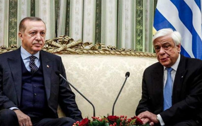 Βαρύ κλίμα στο Προεδρικό - Εκατέρωθεν βολές από Παυλόπουλο και Ερντογάν