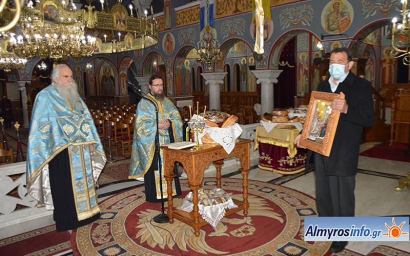 H μεγάλη εορτή του Ευαγγελισμού της Θεοτόκου στον Αλμυρό (βίντεο&φωτο)