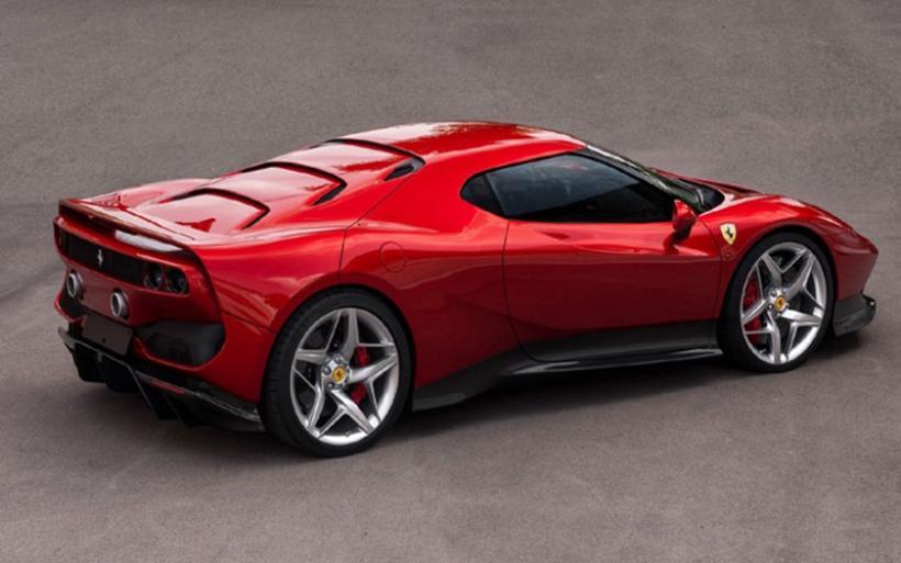 Αυτή η Ferrari κατασκευάστηκε για έναν ξεχωριστό πελάτη