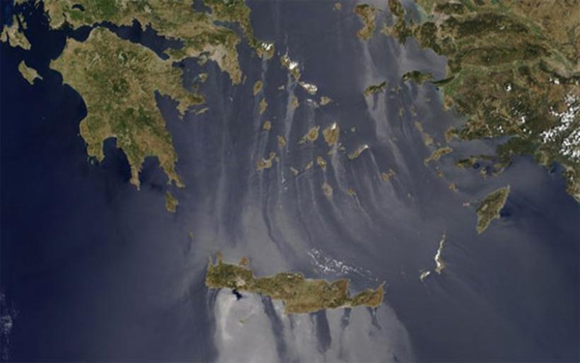 Το εντυπωσιακό φαινόμενο που κατέγραψε η NASA πάνω από το Αιγαίο