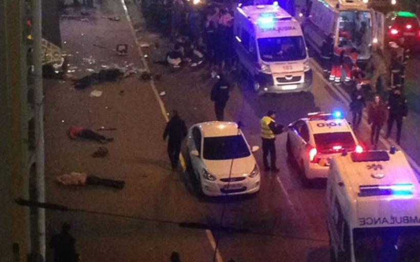 Αυτοκίνητο έπεσε πάνω σε πεζούς στην Ουκρανία - Έξι νεκροί