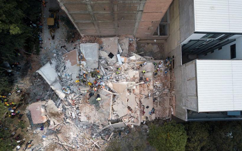 Εκατοντάδες νεκροί από τον σεισμό στο Μεξικό – Φόβοι για πάνω από 1.000