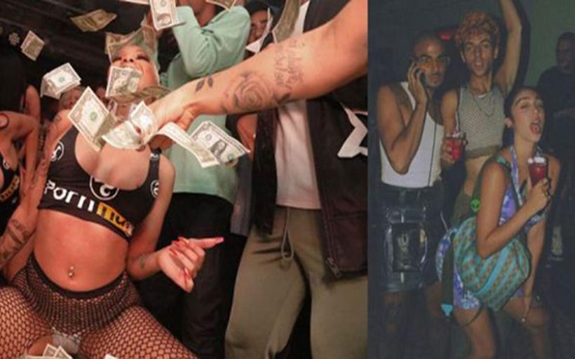 Ξεσάλωσε η κόρη της Madonna στο prive party του PornHub