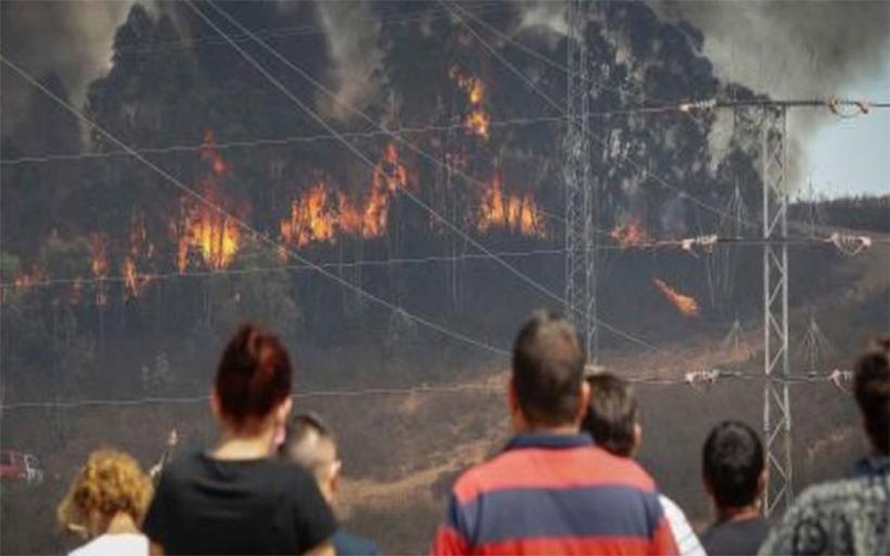 Υπό έλεγχο με τη βοήθεια της βροχής η μεγάλη δασική πυρκαγιά στην Ανδαλουσία