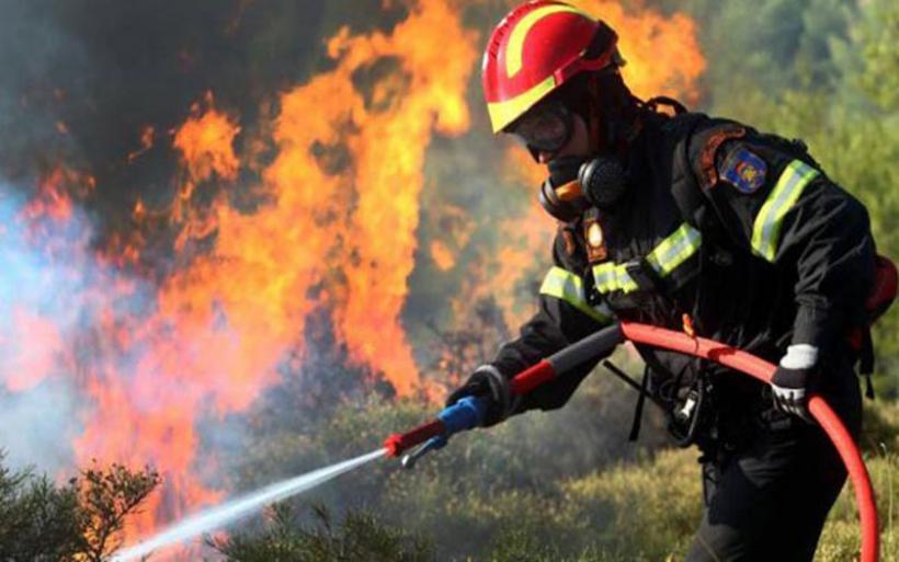 Φωτιά έκαψε δασική έκταση στο Τσατάλι