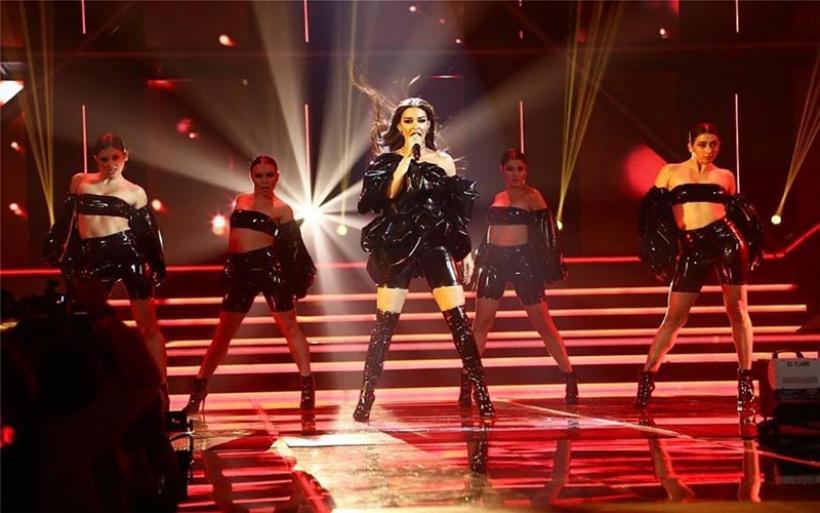 Η «εκρηκτική» εμφάνιση της Ελένης Φουρέιρα στον ισπανικό τελικό της Eurovision