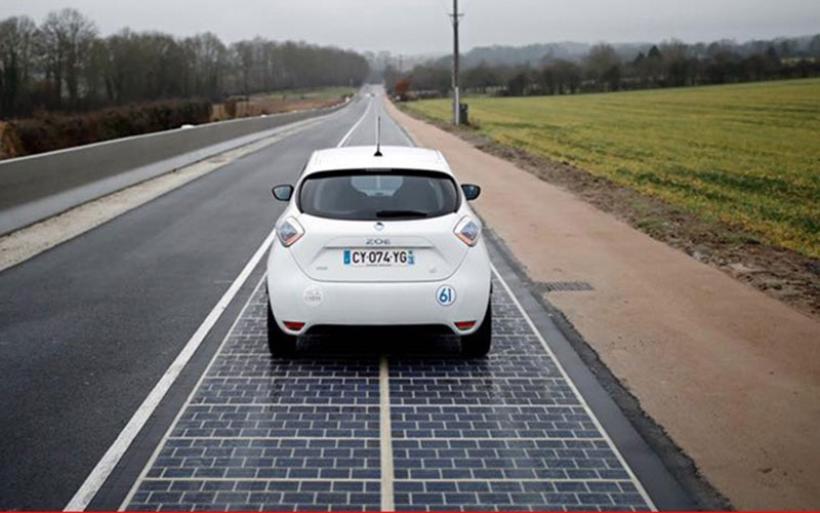 Η Γαλλία έφτιαξε τον πρώτο δρόμο από φωτοβολταϊκά