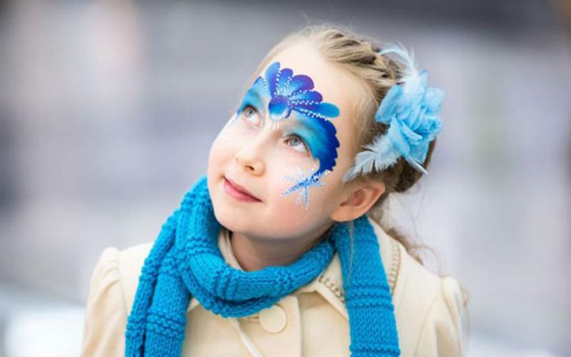 Αποκριάτικο μακιγιάζ για παιδιά – Βήμα βήμα πώς να το πετύχετε