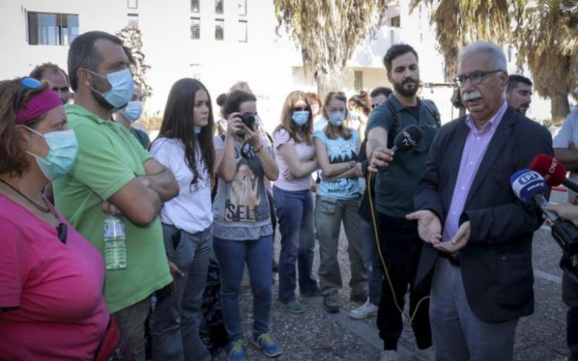 Φωτιά στο Πανεπιστήμιο: 2.000 ευρώ σε κάθε πληγέντα φοιτητή