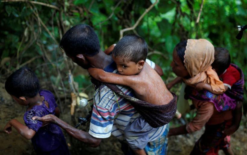 Η εθνοκάθαρση των Ροχίνγκια: Γολγοθάς σε θάλασσα και στεριά