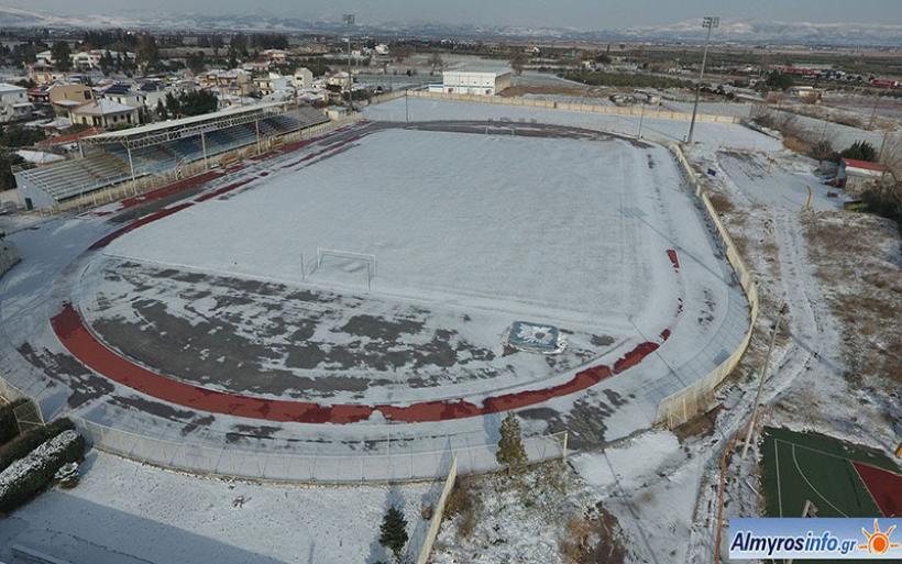 Στον «πάγο» οι προπονήσεις των ποδοσφαιρικών ομάδων