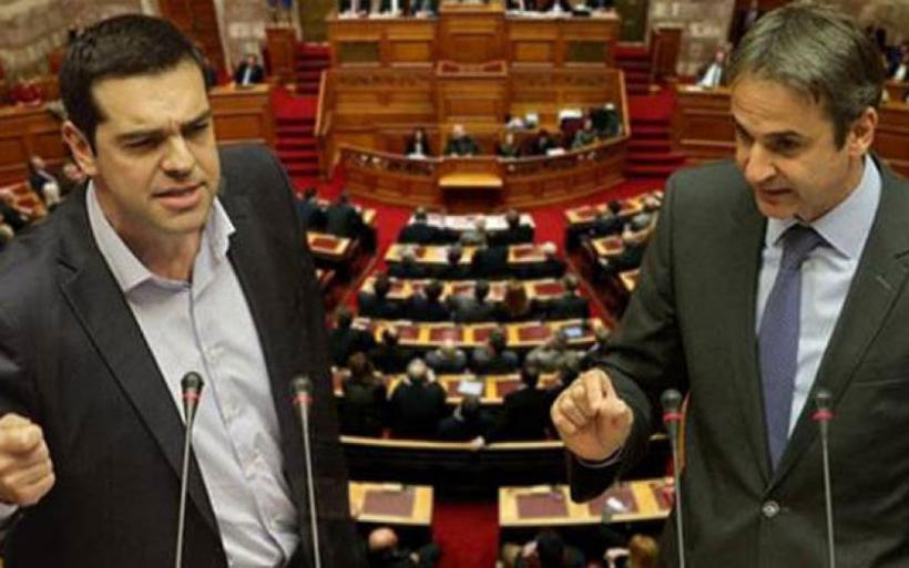 Άγρια κόντρα στη Βουλή για διαπλοκή και οικονομία