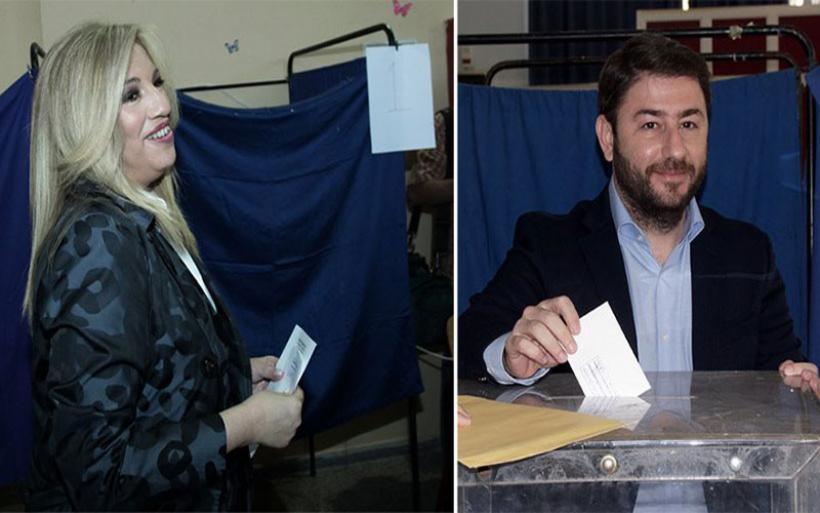 Κεντροαριστερά: Στο δεύτερο γύρο Γεννηματά- Ανδρουλάκης