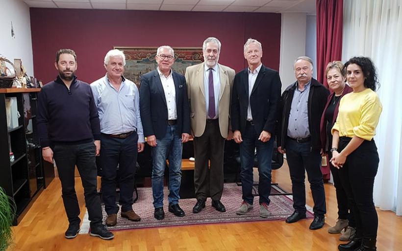 Γερμανοί δήμαρχοι επισκέφθηκαν τον Δήμο Αλμυρού