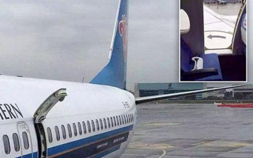 Τρόμος σε πτήση! Άνοιξε η πόρτα κατά την απογείωση