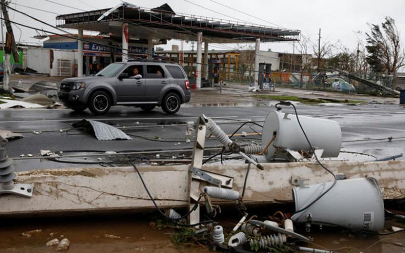 Kαταστροφή επικών διαστάσεων από τον τυφώνα «Μαρία»