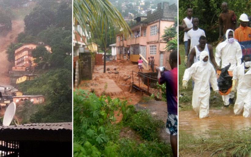 Εικόνες αποκάλυψης στη Σιέρα Λεόνε: Εκατοντάδες νεκροί και χιλιάδες αγνοούμενοι από φονικές κατολισθήσεις