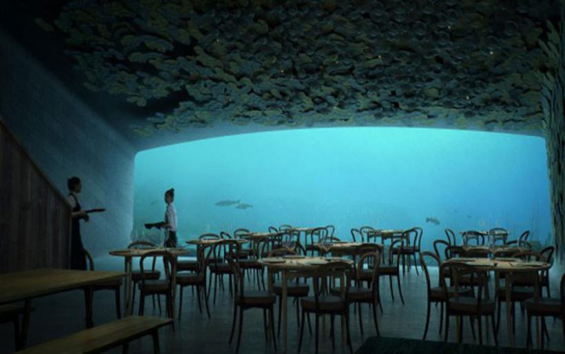 Έρχεται το πρώτο υποθαλάσσιο εστιατόριο της Ευρώπης