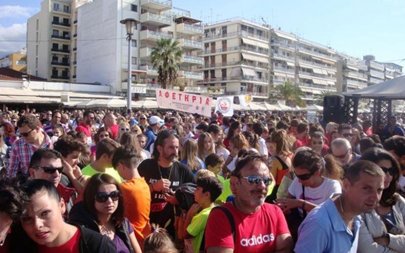 Οι Βολιώτες έτρεξαν για τη «Φλόγα» στην παραλία της πόλης