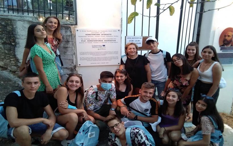 Επίσκεψη μαθητών της ομάδας ASOC του Γυμνασίου Ευξεινούπολης στην Αλόννησο