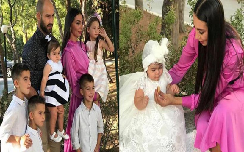 Βασίλης Σπανούλης & Ολυμπία Χοψονίδου: Βάπτισαν την κόρη τους σε στενό οικογενειακό κύκλο!