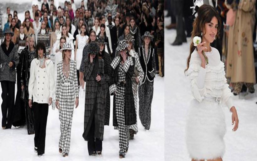 Η Penelope Cruz περπάτησε στο catwalk του Chanel αποτίνοντας φόρο τιμής στον Karl Lagerfeld