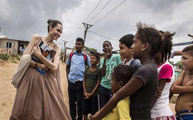 Η Angelina Jolie εντάχθηκε στην συντακτική ομάδα του περιοδικού Time!