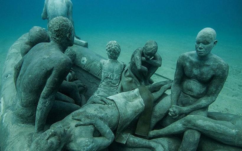 Αυτό είναι το πρώτο υποβρύχιο μουσείο γλυπτών στην Ευρώπη!