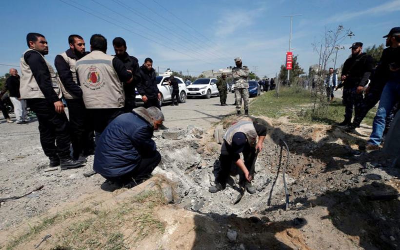 Απόπειρα δολοφονίας του Παλαιστίνιου Πρωθυπουργού στη Λωρίδα της Γάζας (φωτο)