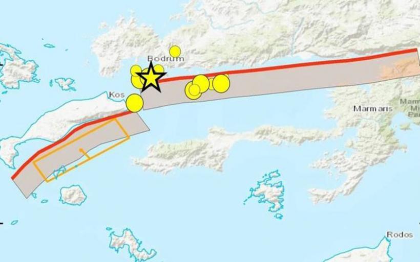 Σεισμός στην Κω: Ποιο είναι το ρήγμα που προκάλεσε τη φονική σεισμική δόνηση