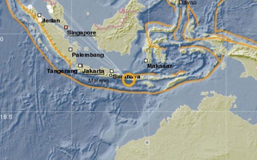 Ισχυρός σεισμός 6,4 Ρίχτερ στο Μπαλί – Έγινε αισθητός ακόμα και 270 χλμ. μακριά