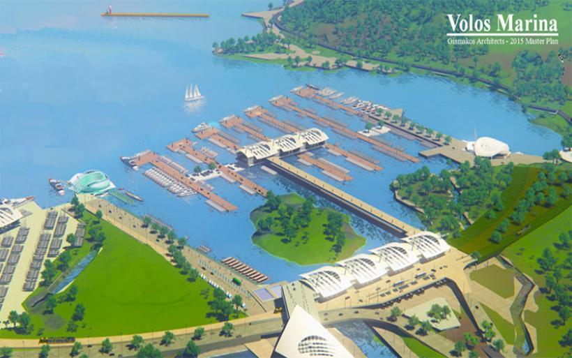 """Παρουσιάστηκε το επιχειρηματικό μοντέλο και οι εναλλακτικές προτάσεις για το """"Volos Marina"""""""