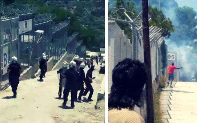 Νέα εξέγερση μεταναστών στη Μόρια