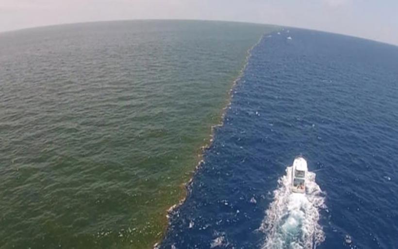 Απίστευτο βίντεο: το σημείο όπου ο Ειρηνικός και ο Ατλαντικός συναντιούνται