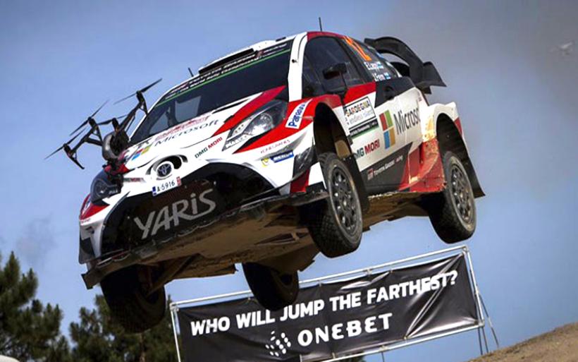 Αυτοκίνητο του WRC τρακάρει με drone!