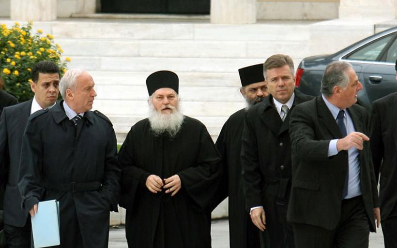 Αθώοι όλοι οι κατηγορούμενοι για την υπόθεση Βατοπεδίου