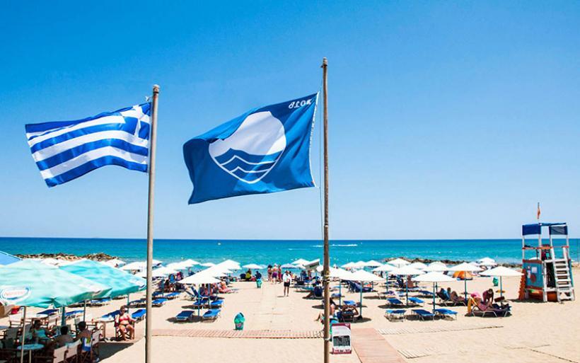 Αφαιρέθηκαν οι «Γαλάζιες Σημαίες» από 19 ελληνικές ακτές