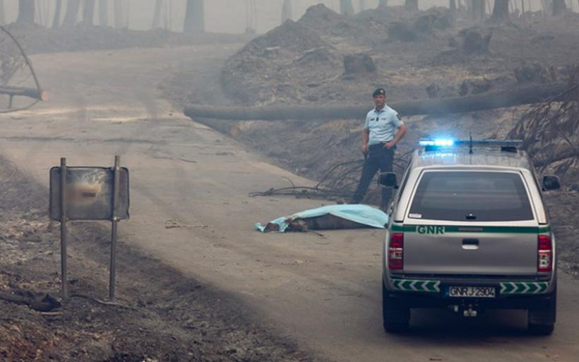 Πυρκαγιά κόλαση στην Πορτογαλία -Τουλάχιστον 62 νεκροί, πολλοί παγιδεύτηκαν σε ΙΧ