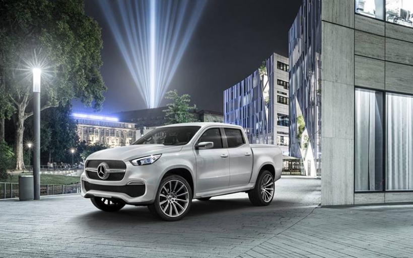 Η X-Class είναι το νέο pick-up της Mercedes και θα είναι διαθέσιμη σε περίπου 1 χρόνο
