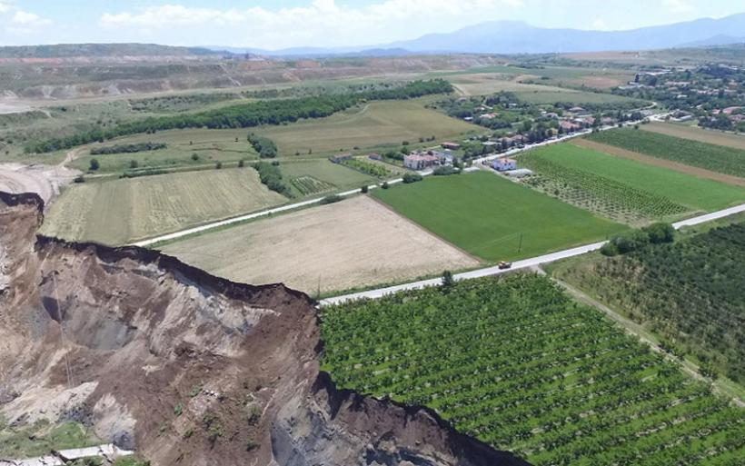 Νέα προειδοποίηση για εκκένωση του οικισμού των Αναργύρων στη δυτική Μακεδονία