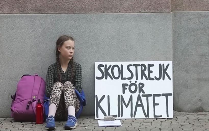 Γκρέτα Τούνμπεργκ: Από μοναχική διαδηλώτρια... «φαβορί» για το Νόμπελ Ειρήνης