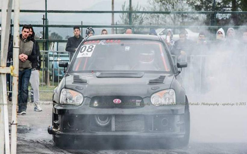 Το πιο γρήγορο Subaru στην Ελλάδα - Σε 400 μέτρα και σε 8.1 δευτ. πιάνει τα 270 χλμ./ώρα