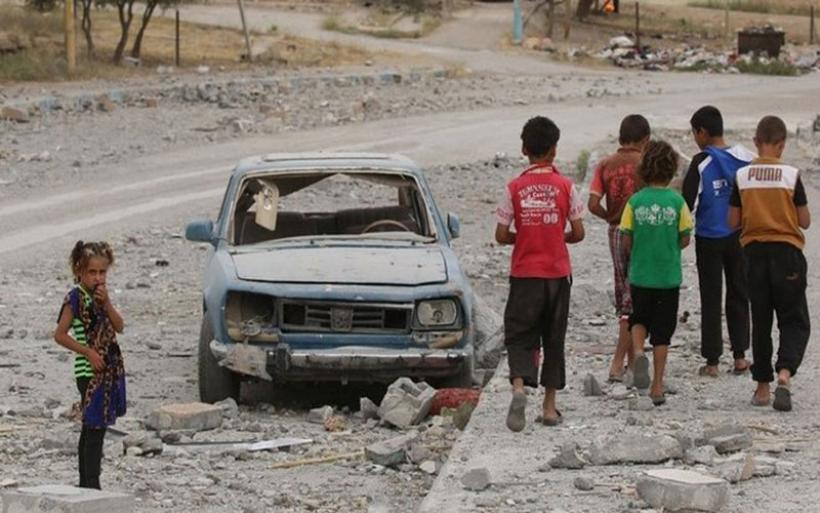 Συρία: Δραματική αύξηση του αριθμού των παιδιών τα οποία σκοτώνονται και ακρωτηριάζονται
