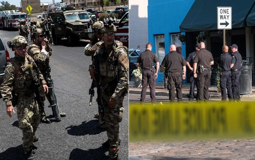 Σοκ από το διπλό μακελειό στις ΗΠΑ: Σε 30 δευτερόλεπτα σκότωσε 9 ανθρώπους!