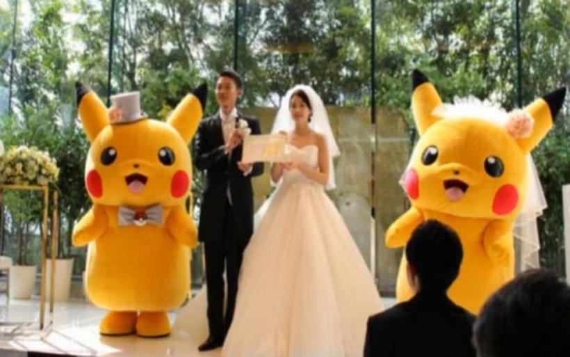 Τρέλα στην Ιαπωνία: Γάμοι με θέμα Pokemon